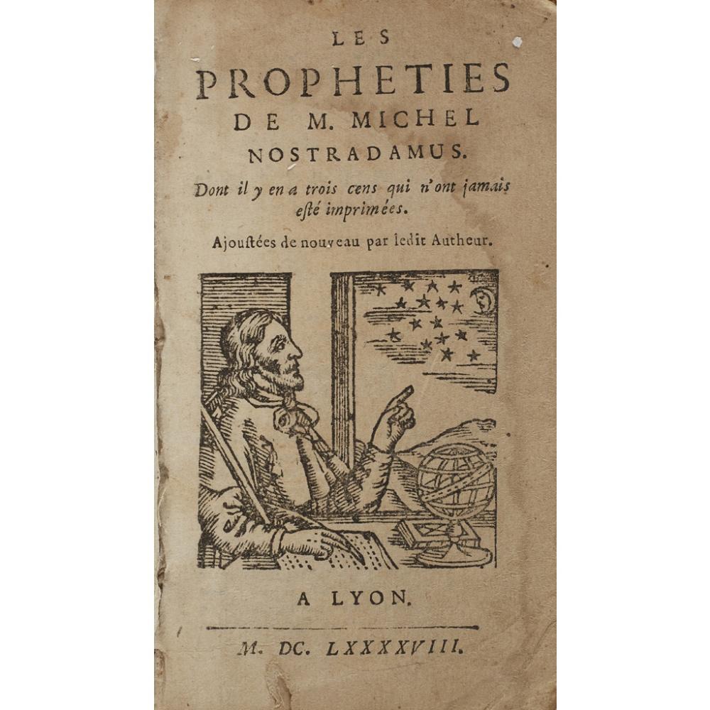 NOSTRADAMUS, MICHEL DE LES PROPHETIES