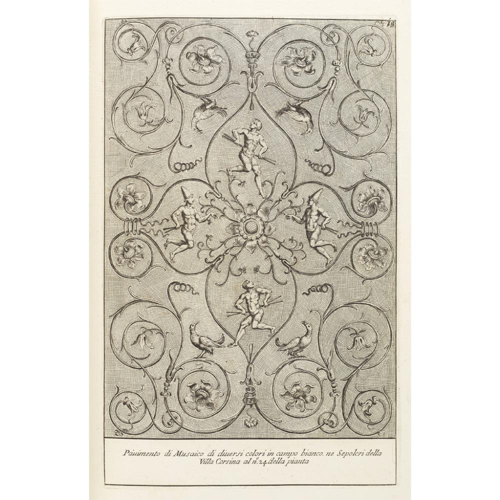 BARTOLI, PIETRO SANTIGLI ANTICHI SEPOLCRI, OVERO MAUSOLEI ROMANI ET ETRUSCHI, TROVATI IN ROME & IN - Image 2 of 2