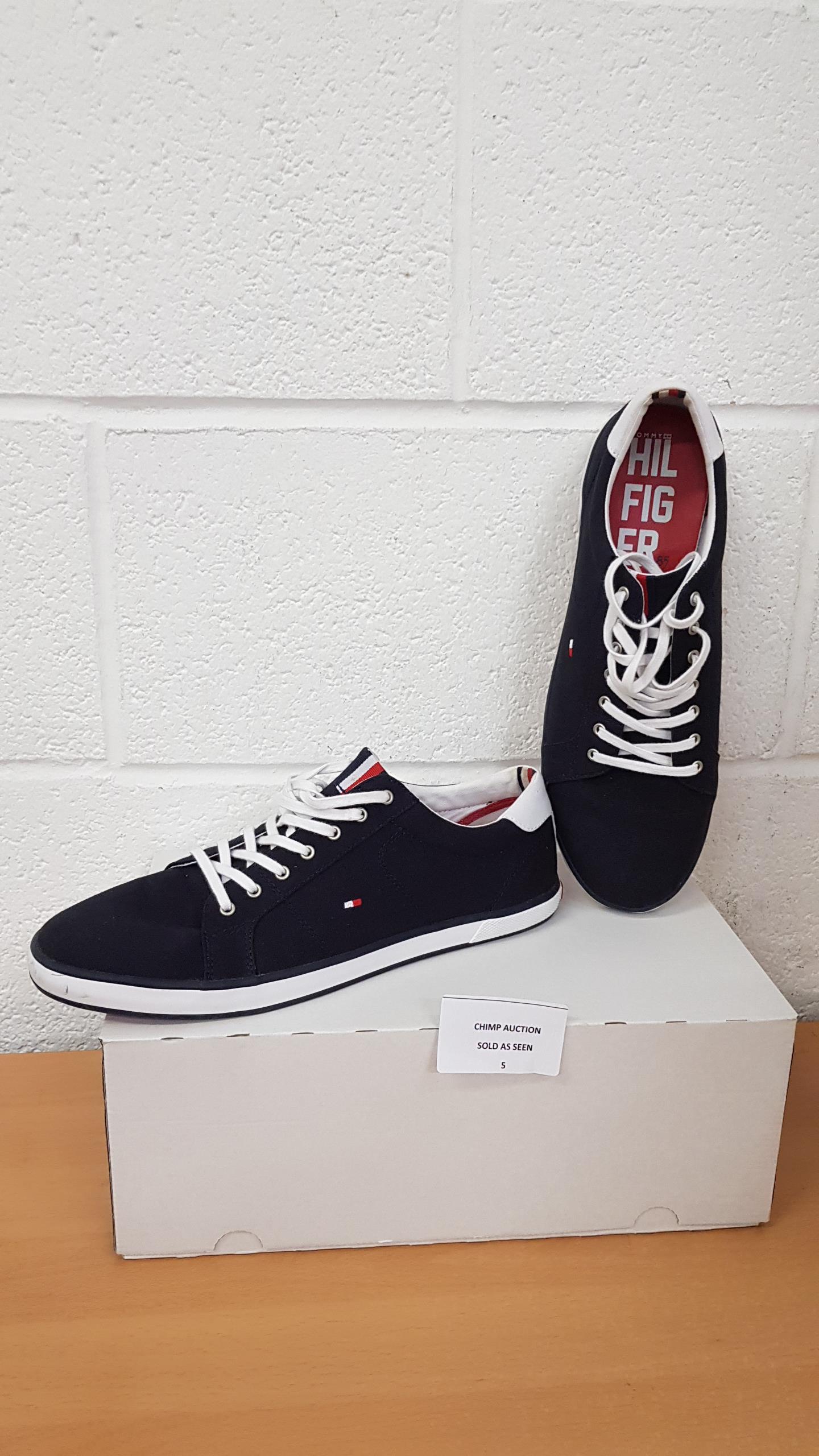 Lot 5 - Tommy Hilfiger men's shoes UK 10.5