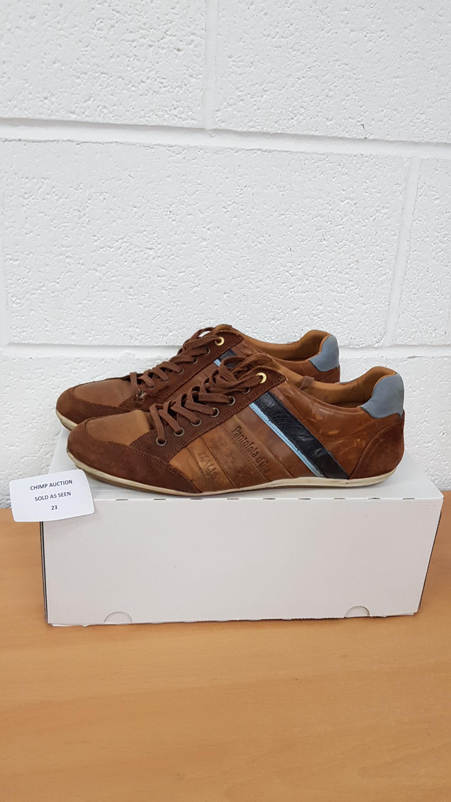 Lot 23 - Pantofola Doro men's shoes EU 44