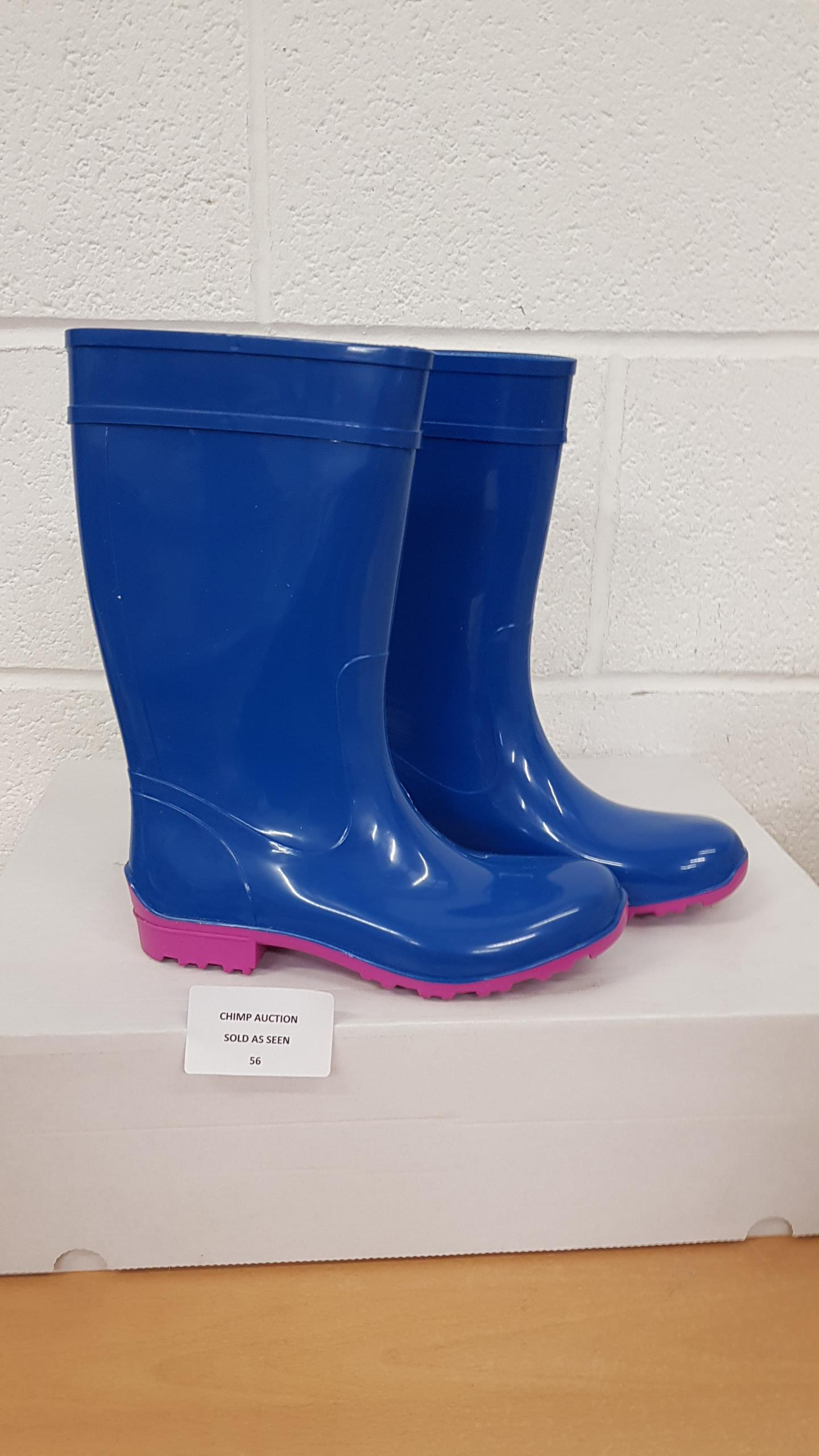 Lot 56 - Lemigo welly boots EU 36