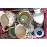 A collection of Spode large items to inc