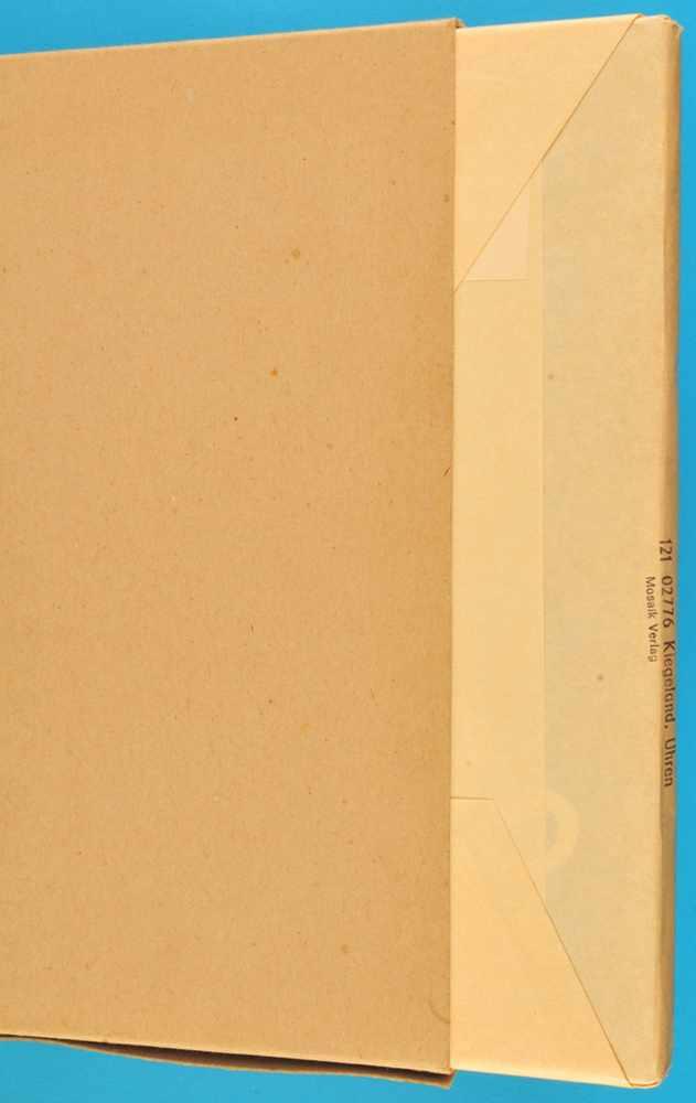 Burkhard Kiegeland, Uhren, 1976, 144 Seiten mit vielen s/w- und FarbabbildungenBurkhard Kiegeland,