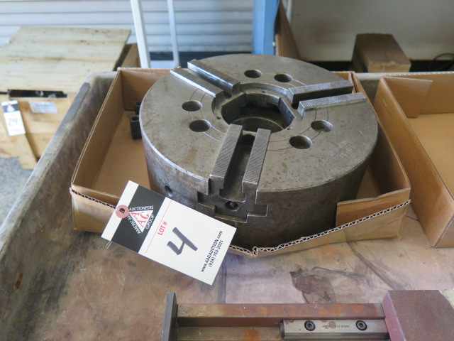 "Lot 4 - 12"" 3-Jaw Power Chuck"
