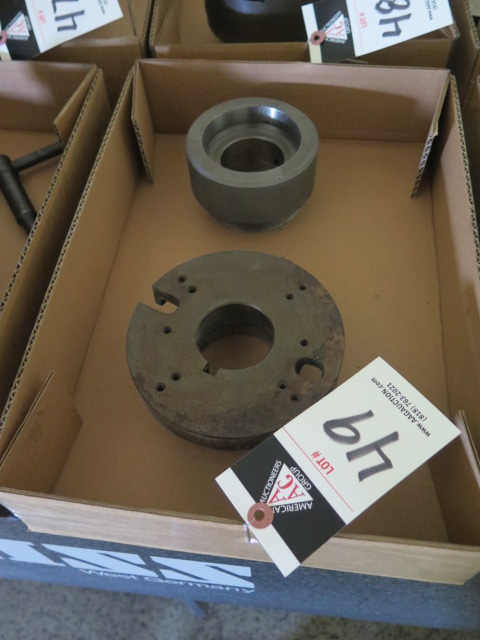 Lot 49 - Collet Chuck Adaptor and Faceplate