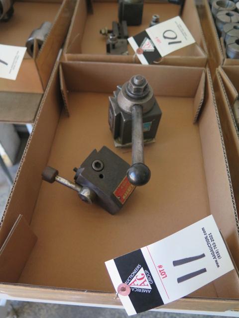 Lot 11 - KDK and Yuasa Tool Posts