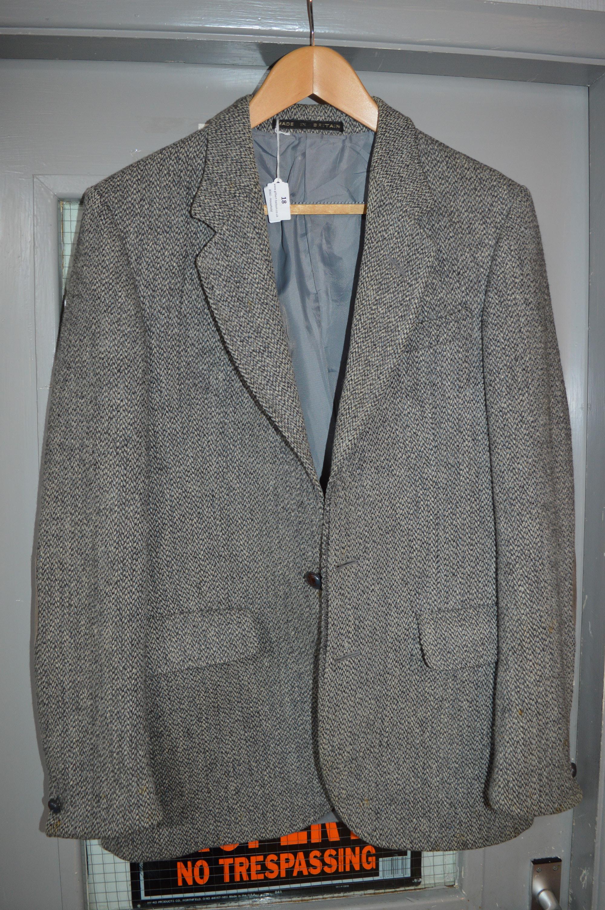 Lot 18 - Gents Harris Tweed Jacket