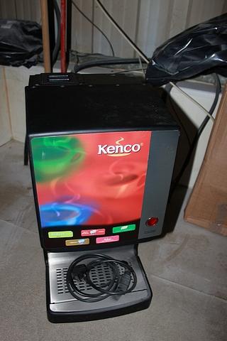 Lot 162 - Kenco Coffee Type 6381900863 counter top machine