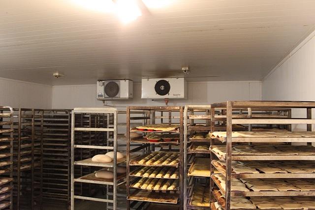 Lot 94 - Lintec modular walk in fridge 5500mm x 4500mm x 2400mm with 2x single Searle evaporators and
