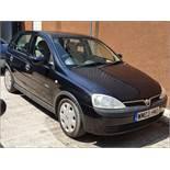 03/03 Vauxhall Corsa Elegance 16V - 1389cc 5dr Hatchback (Black, 86k)