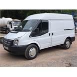 12/12 Ford Transit 125 T330 FWD - 2198cc 5dr Van (White, 114k)