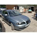 04/54Seat IbizaSX - 1198cc 3dr Hatchback (Blue, 111k)