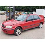 98/RHonda Civic1.4i Auto - 1396cc 5dr Hatchback (Red, 106k)