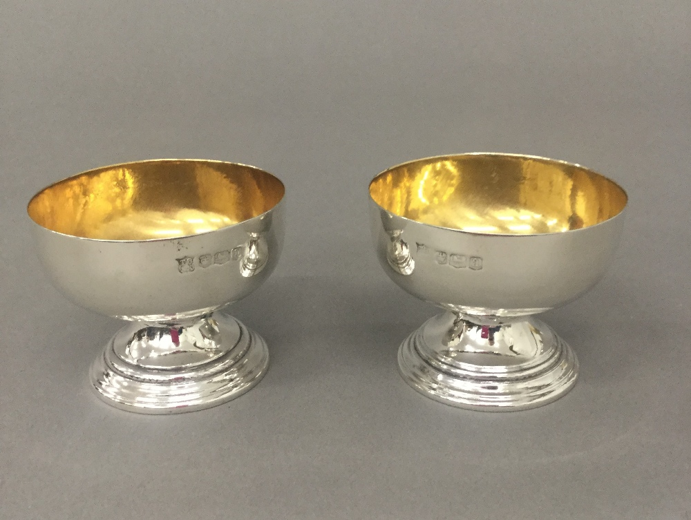 A pair of silver salts (2.