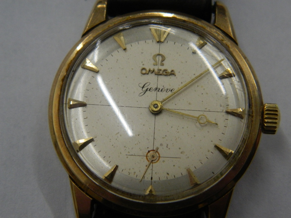 A 9 ct gold gentleman's Omega wristwatch - Image 2 of 2