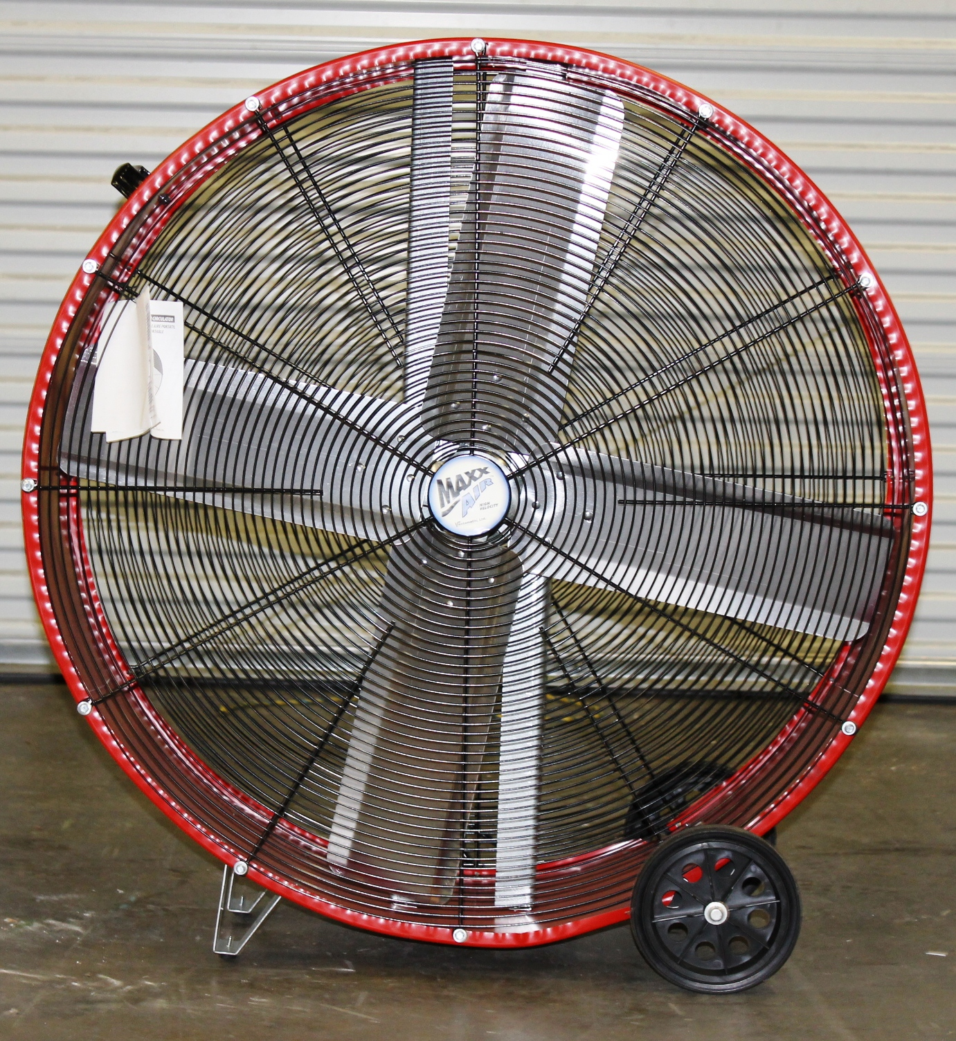 36 DIRECT DRIVE BARREL FAN MAXXAIR BF36DD 2 SPEED 1/3 HP THERMALLY  #A82723