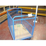 CAGED TROLLEY approx 1100mm x 700mm