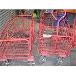2 off Sealey, 150Kg capacity folding PLATFORM TRUCKS modelCST 805