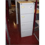2 off 4 drawer FILING CABINETS