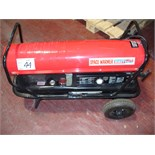 Sealey SPACE WARMER model AB2158 Paraffin/Diesel fuel powered.