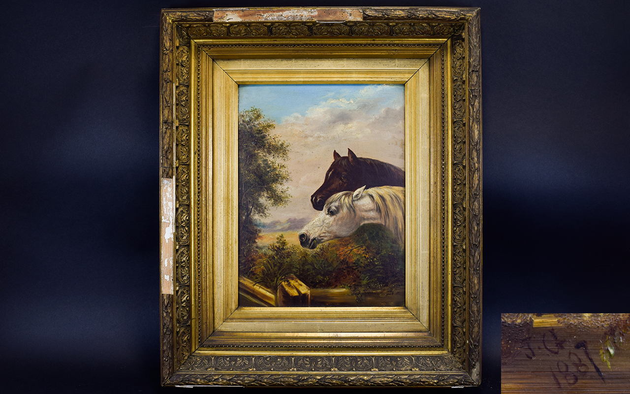 Lot 915 - A Late 19th Century Oil Painting - An E