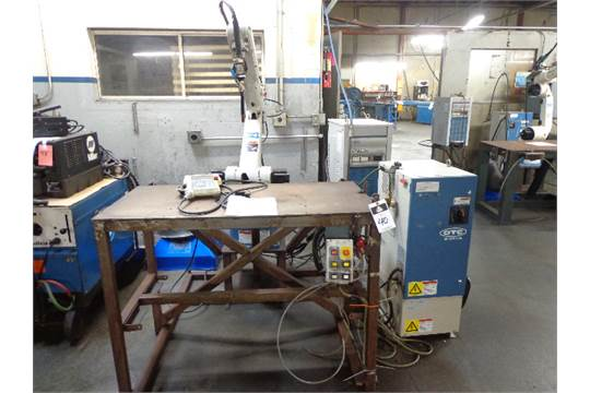 2000 OTC mdl  IRBC-602 6-Axis CNC Robotic Welding Manipulator s/n
