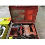 Hilti TE22 Hammer Drill w/ SOS Plus Drill Bits