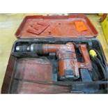Hilti TE72 Hammer Drill w/ SOS Max