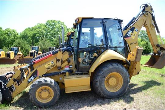 2009) Cat 420E4ATIT Backhoe Loader 4673 HRS ST 2WS