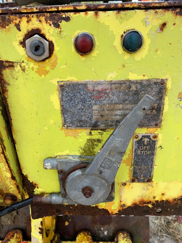 Lot 23 - RAMMAX RW 1404 HF REMOTE CONTROLLED TRENCH ROLLER, HATZ DIESEL ENGINE *PLUS VAT*