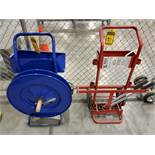 ULINE & SAMUELS BANDING CARTS, STRAPPING TOOL
