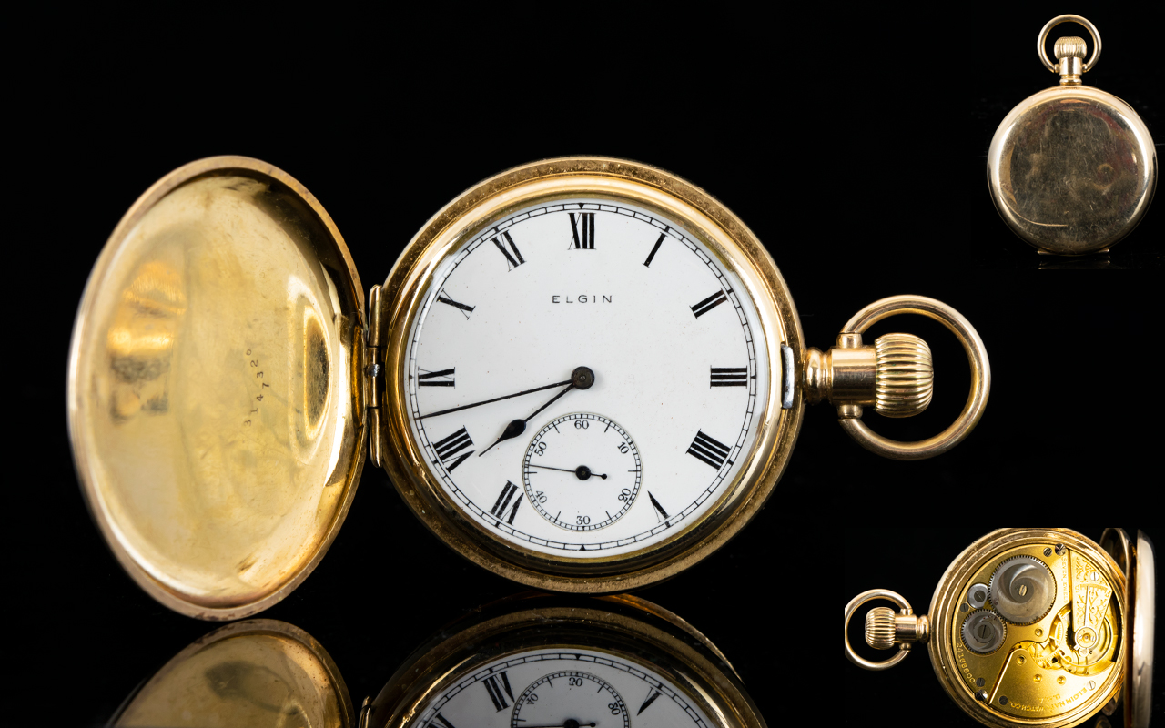 Lot 43 - Elgin National Watch Co Superb Quality G