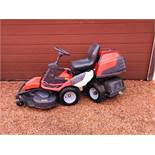 HUSQVARNA PR17 4WD RIDE ON MOWER WITH OUTFRONT MULCH DECK 112CM WIDTH. 270 REC HOURS, YEAR 2011.