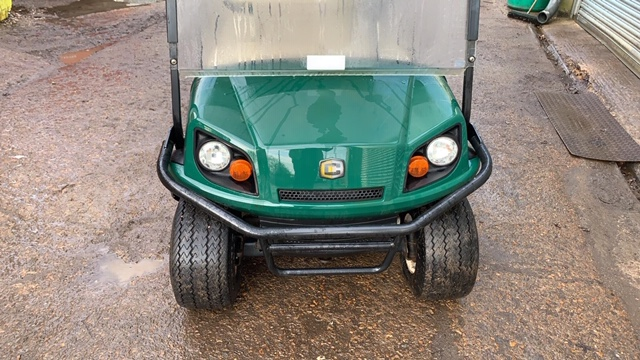 Lot 14 - CUSHMAN EZGO SHUTTLE 6 BATTERY POWERED GOLF / EVENTS TRANSPORT BUGGY. YEAR 2014 BUILD. 325 REC