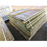 14 X MIXED FENCE PANELS