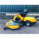 STIGA 540L 4WD RIDE ON MOWER YEAR 2017. 1.25M COMBI DECK FITTED WHEN TESTED WAS SEEN TO RUN, DRIVE