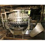 Elmar 35-Valve S/S Rotary Can Filler, Model RPE-355 1 L.H., S/N EM90-9027, Set-Up with All S/S