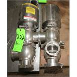 """Top Line 3"""" 3-Way S/S Air Valves, Clamp Type"""