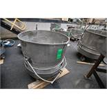 """~38"""" W x 35"""" D S/S Basket Strainer with Buggy"""