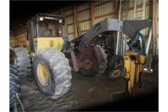 CAT 518 Grapple Skidder w 3805 Hrs