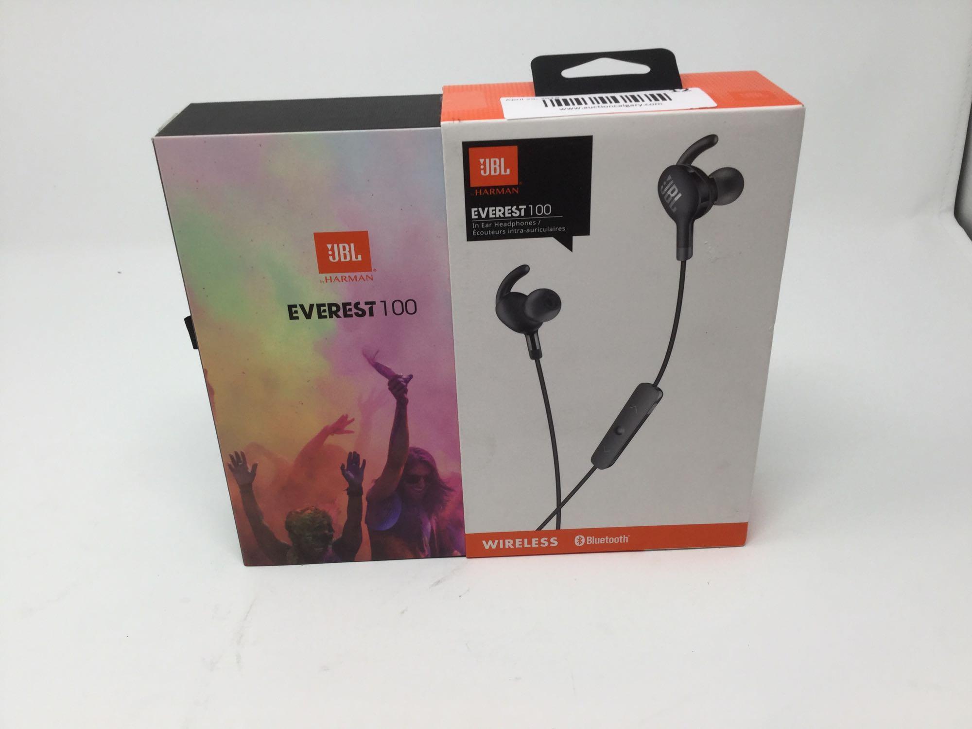 Lot 12 - Everest 100 In-Ear Headphones -Wireless, Bluetooth
