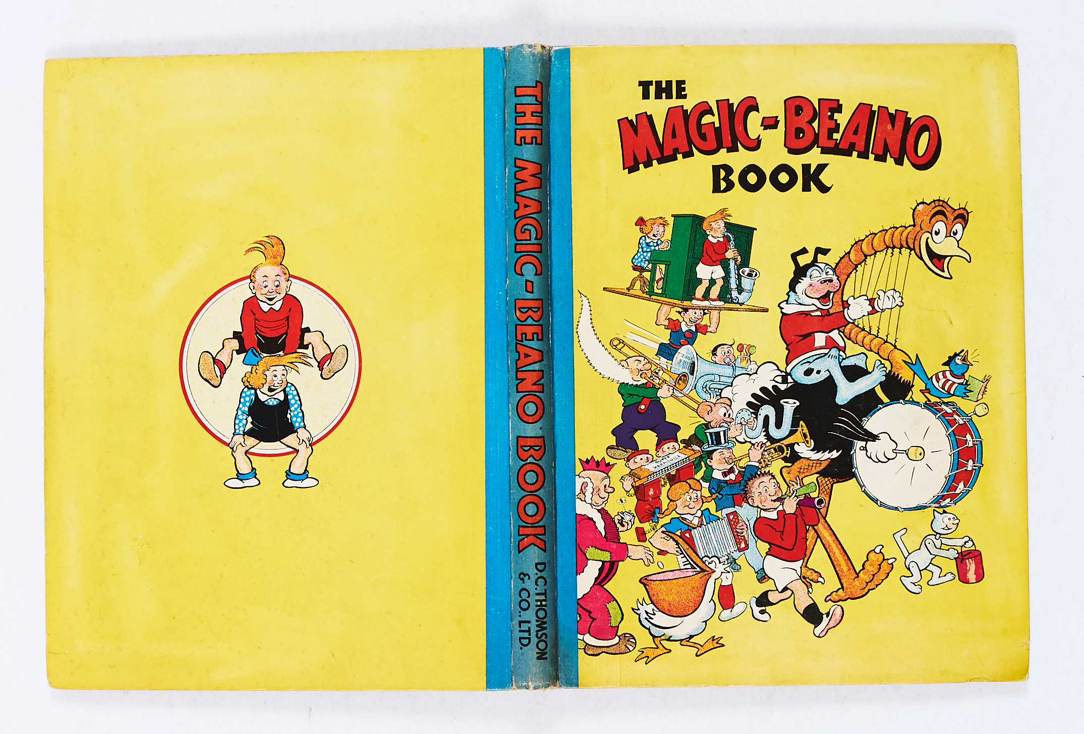 Lot 34 - Magic-Beano Book (1948). Big Eggo's Marching Band. Bright boards and spine with minimal wear. No