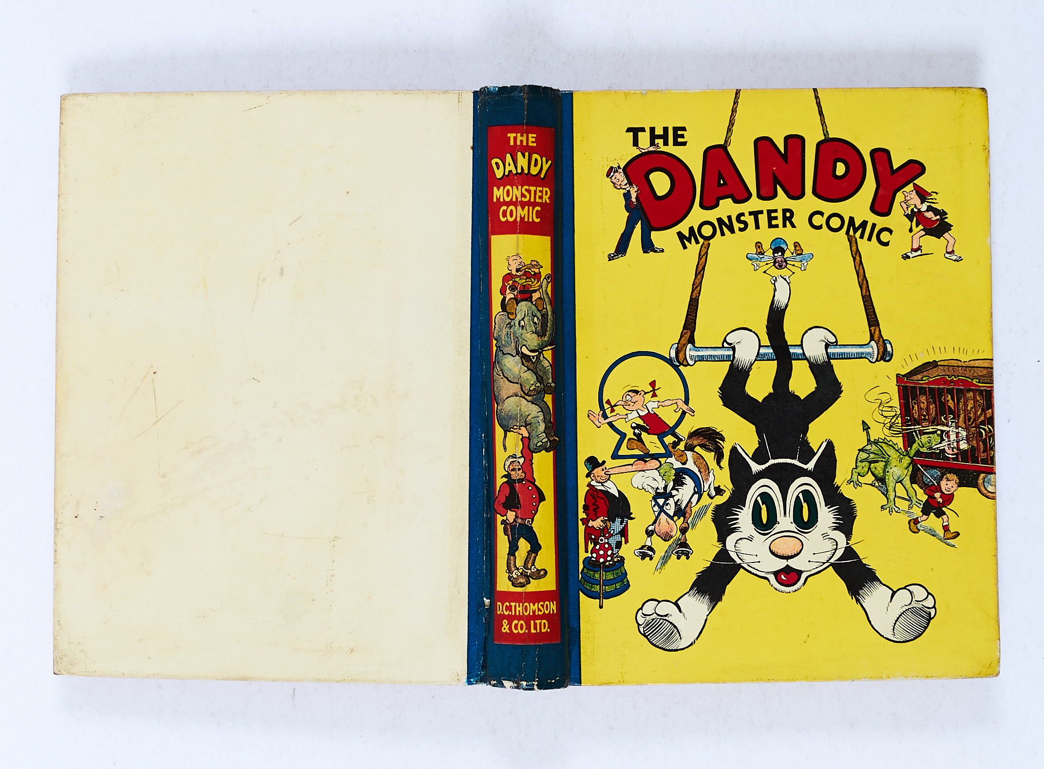 Lot 20 - Dandy Monster Comic 2 (1940). Korky at the Circus. Bright boards and spine with minimal wear. Neat