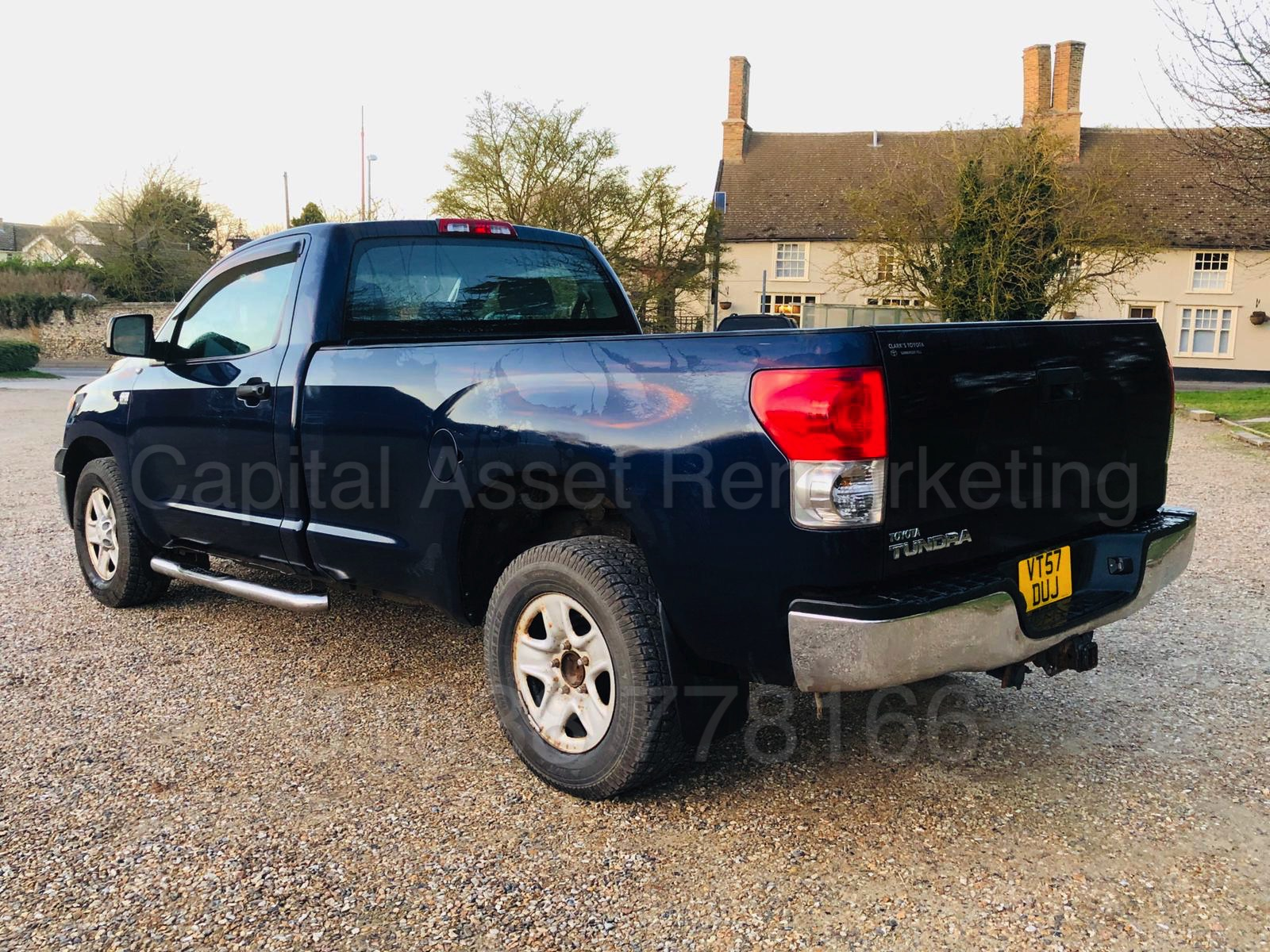 Lot 14 - TOYOTA TUNDRA *I-FORCE EDITION* SINGLE CAB PICK-UP (2008) 'V8 ENGINE - AUTOMATIC' **UK REGISTERED**
