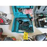 MAKITA AND CHICAGO ELECTRIC DRILLS