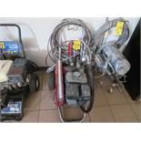 TITAN POWER TWIN 4900 PLUS PORTABLE PAINT SPRAYER, MDL. SP170 SUBARU GAS ENGINE