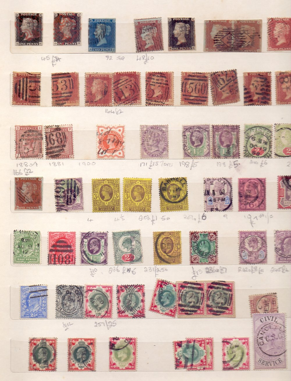 Lot 8 - STAMPS Four well filled stockbooks, better than average mixed lot, well worth viewing,