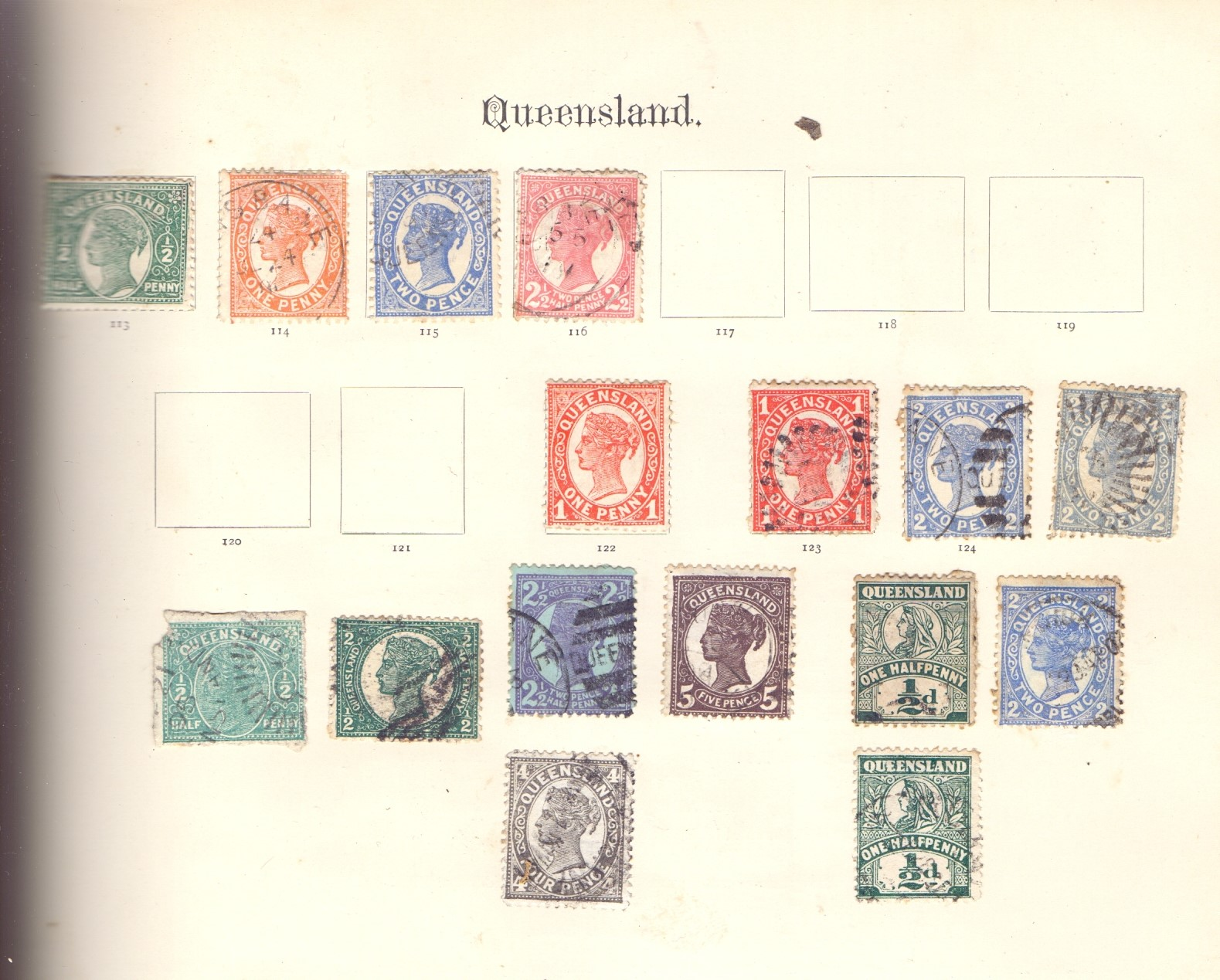 STAMPS : IMPERIAL Album 1897 edition, - Image 7 of 7
