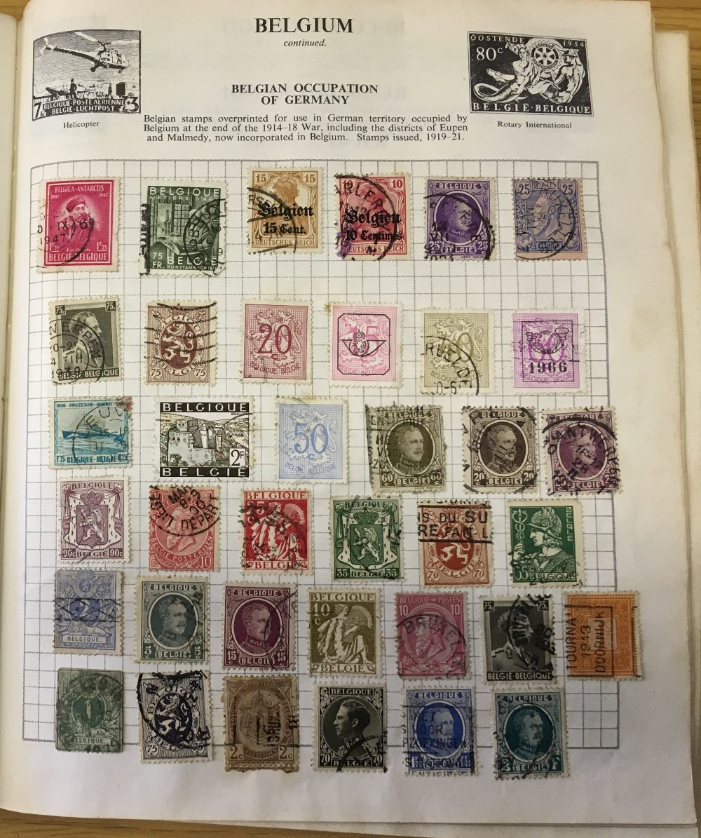 STAMPS : CHARITY LOT: Red Strand album 1966 edition, pretty full (100's ) including China etc, - Image 2 of 6