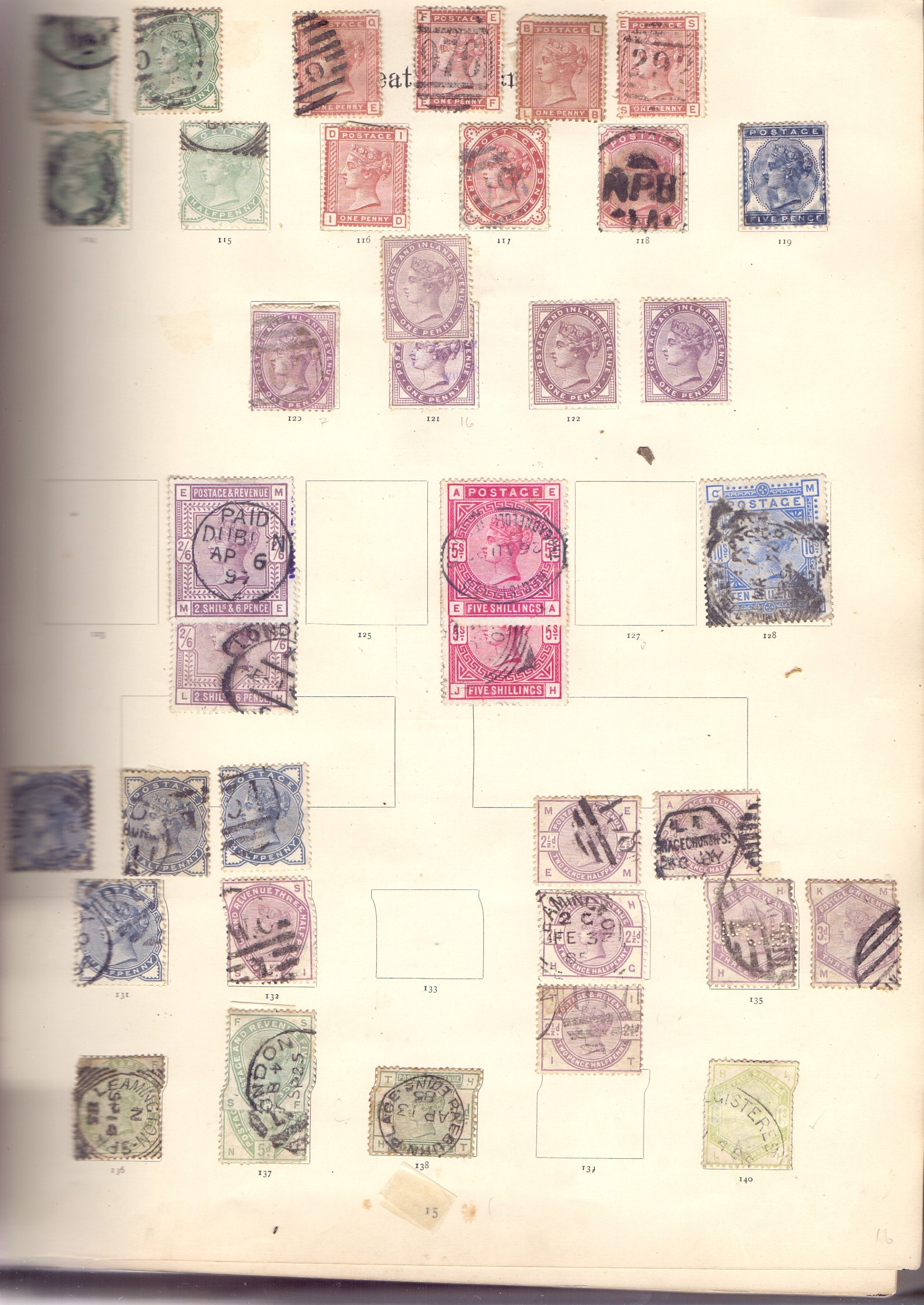 STAMPS : IMPERIAL Album 1897 edition, - Image 2 of 7